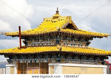 Temple in Mongolia,Moron