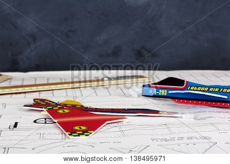 Making Toy Aircraft Ready To Fly On Instructions