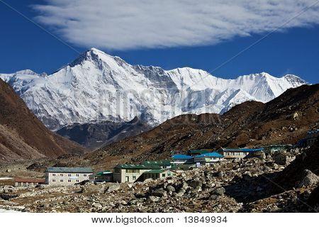 Cho Oyo peak in Himalaya