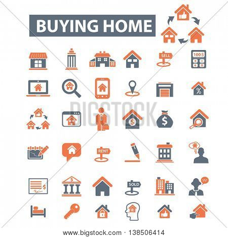 buying home icons