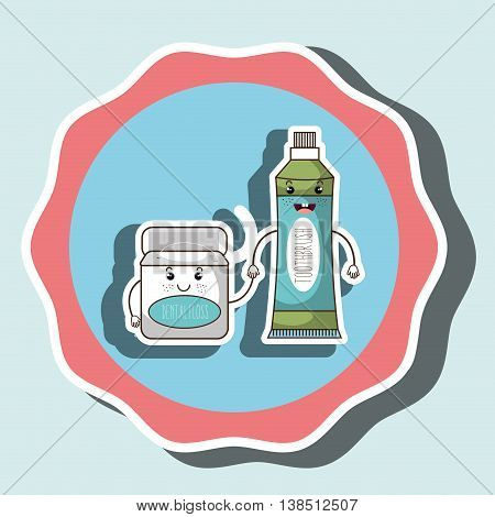 symbol tooth and mouthwash isolated icon design, vector illustration  graphic