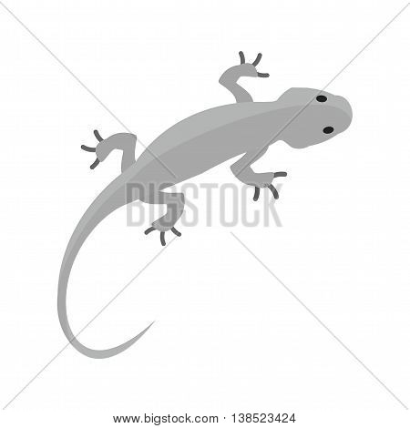 Lizard, pet, reptile icon vector image. Can also be used for pet shop. Suitable for mobile apps, web apps and print media.
