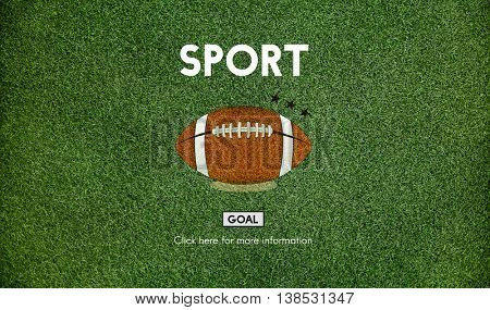 Football Touchdown Sport Graphics Concept