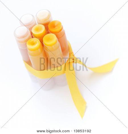 Conjunto caseiro de labiais
