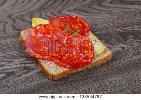 Chorizo Sandwich