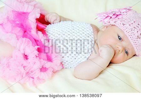 Sweet Newborn Girl