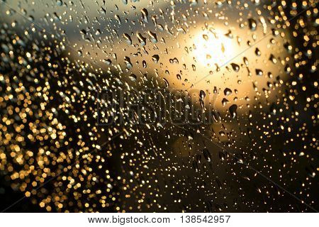 wet glass, wet, water, glass, raindrop, window, rain, weather,