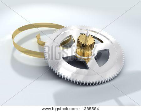 Chromium Gear Wheel