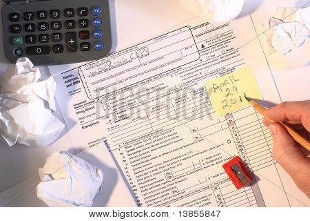 2010 U.S. Tax form filed past deadline