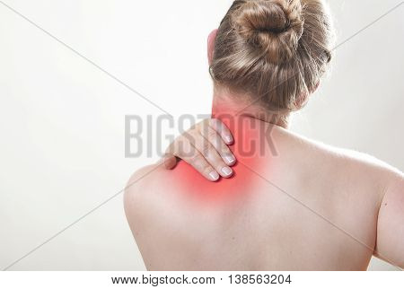 Shoulder Pain Red