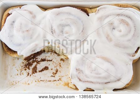 Buns, Rolls With Icing On The Grid