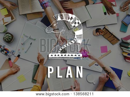 Plan Ideas Objective Operation Process Solution Concept