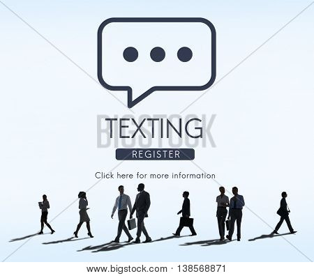 Texting Communication Online Conversation Concept