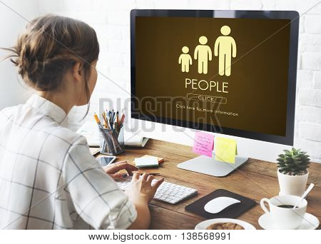People Family Generations Relationship Concept