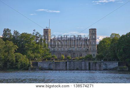 Gatchina. Leningrad region. Palace and park ensemble in Gatchina. Park.