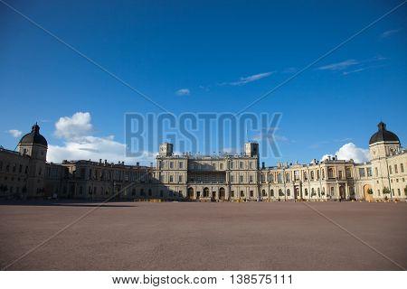 Gatchina. Leningrad region. Palace and park ensemble in Gatchina. Big Palace