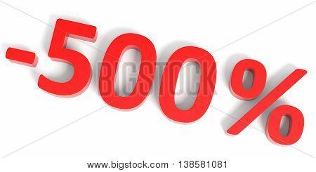 Discount 500 Percent Off Sale.