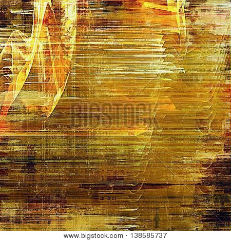Retro abstract background, vintage grunge texture with different color patterns: yellow (beige); brown; green; red (orange); white