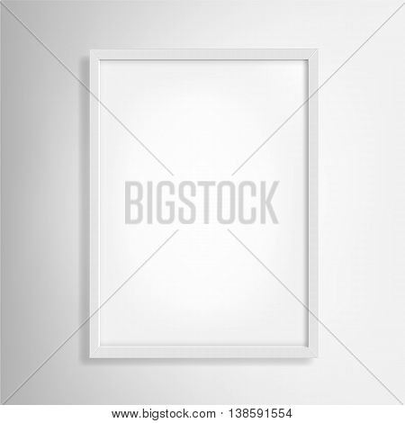 Photo Frame Vector. White photo frame Art. photo frame design