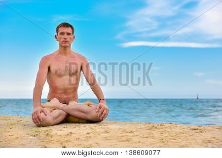 Man In Meditation