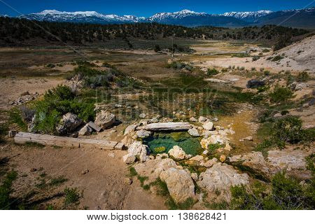 California Hot Springs Bridgeport Ca Usa