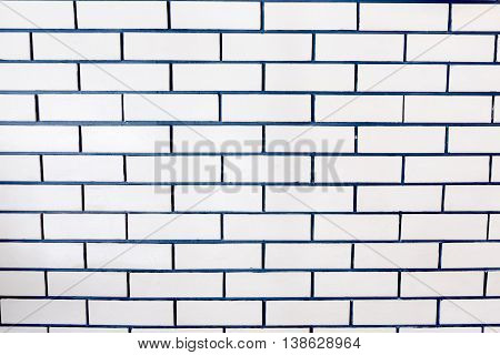 brick white and black wall background for decoration