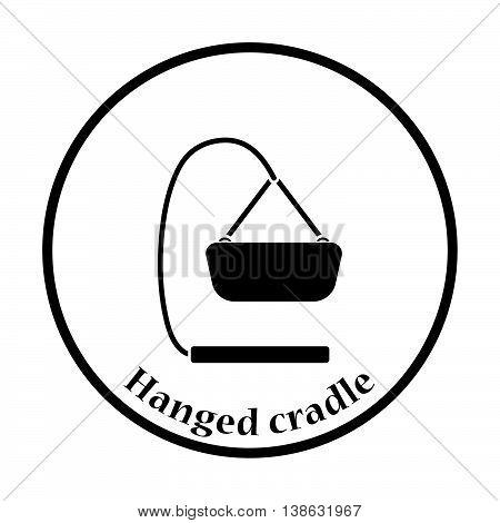 Baby Hanged Cradle Icon