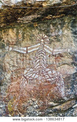 Ancient Rock Drawing