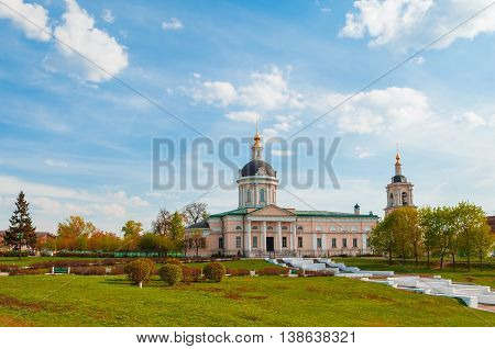 Church of the Archangel Michael in the ancient Russian city of Kolomna