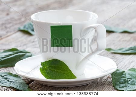 Herbal Tea From The Leaves