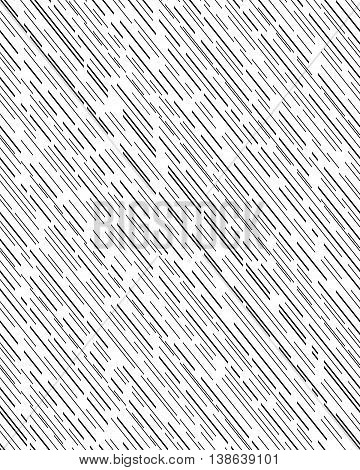 Sloping dashed lines, seamless pattern background, illustration