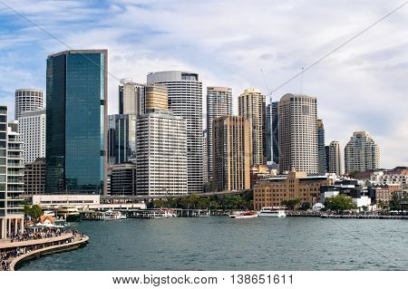 Circular Quay and The Rocks, both at the northern end of the Sydney CBD, are popular tourist destinations.  They nestle beside Sydney Harbour and are full of action, especially on weekends.