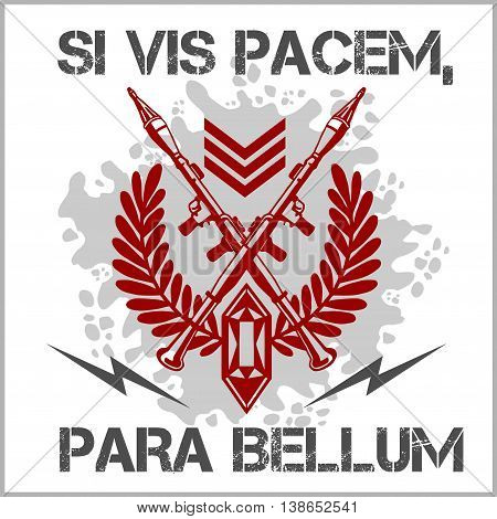 Si vis pacem para bellum - Soldier of Fortune