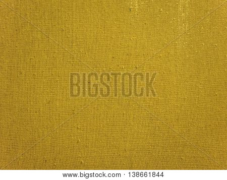 Yellow Burlap Background