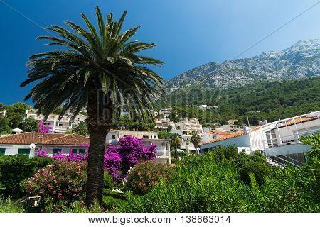 Brela is a seaside resort on the Makarska Riviera