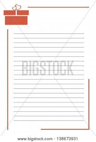 Vector Greeting Card, With Space For Text