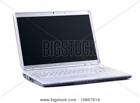 modernen Laptop isolated on white