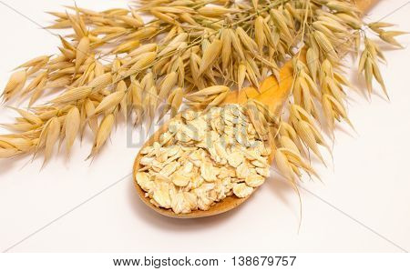 Grain Oats And Oatmeal