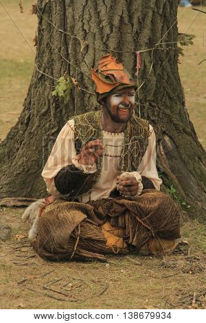 Kenosha WI - July 26: Bristol Renaissance Faire on July 26 2015 in Wisconsin. Live action fantasy-play game 16th Century in Wisconsin USA.
