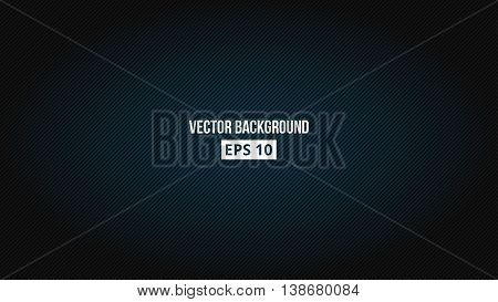 Technological, futuristic, glimmering background with 16 9 aspect ratio. Blue light. Vector, eps 10