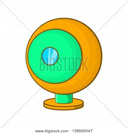 Webcam icon in cartoon style isolated on white background. Video symbol