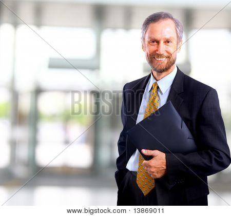 businessman isolated on white bacground