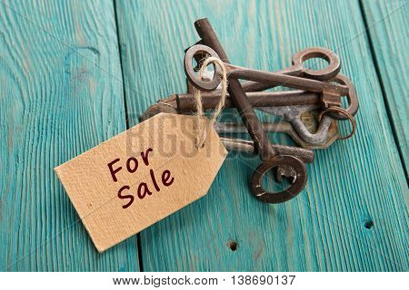 Real Estate Sale Concept