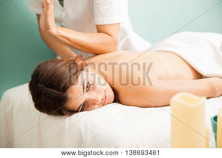 Deep Tissue Massage At A Health Clinic