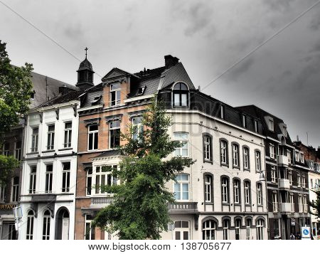 the City of Maastricht in the netherlands