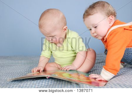 Children With Book