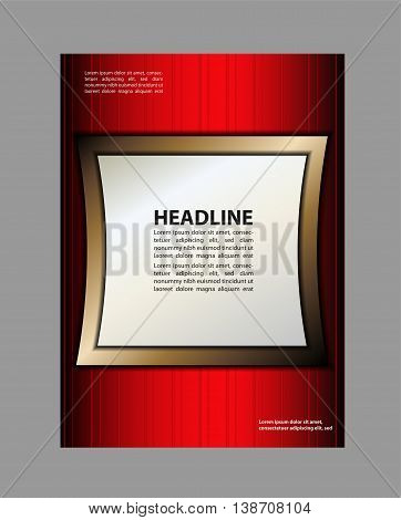 flyer background. flyer and magazine cover template