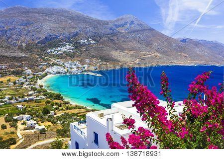 luxury Greek holidays - Amorgos island,Aegialis bay, Cyclades