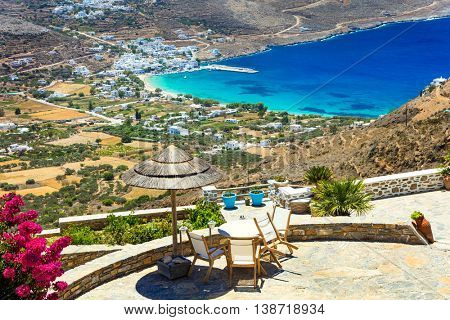 relaxing Greek holidays - beautiful ilsand Amorgos, Cyclades