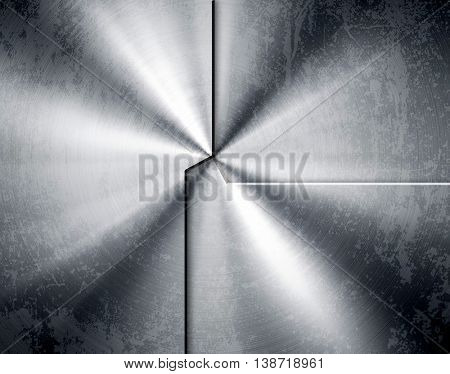stained metal pattern background